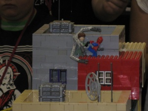 Watch out Lego Spidey! You can't break Lego Doc Ock!