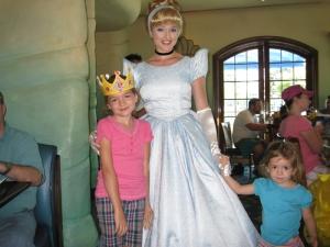 Cinderella! AKA: The princess who has no backbone. How I loathe her.